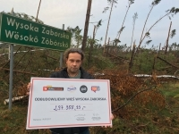 Let's Rebuild Wysoka Zaborska Village - a charity project by Agora's radio stations