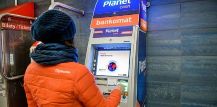 AMS offers advertising on ATM screens