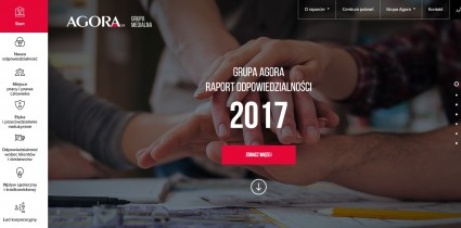 'Responsible Everyday' – an interactive Responsibility Report Of Agora Group for 2017 available now!