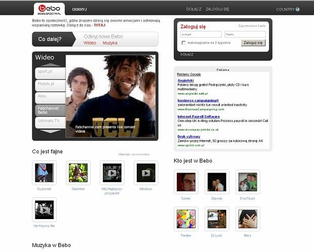 Combined Social Networking Platform Of Agora And Bebo