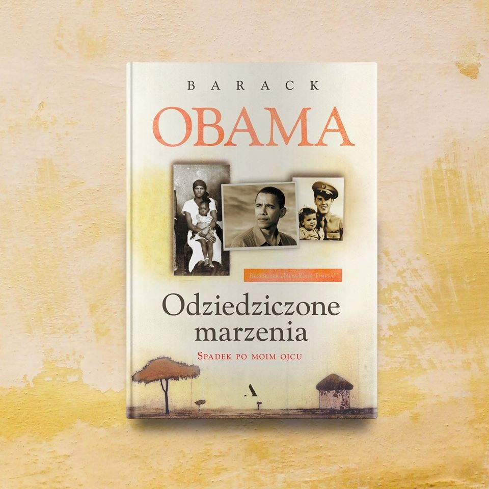 "Polish premiere of Barak Obama's book ""Inherited dreams. Inheritance from my father"" on February 12, 2020"