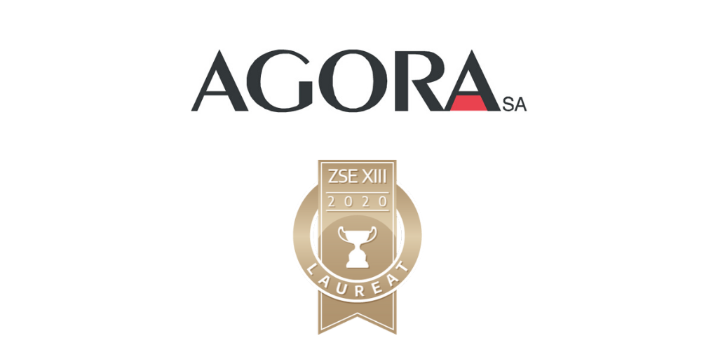 Agora won for the third time the Golden Website competition!